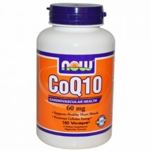NOW CoQ10 60 mg 60 vcaps