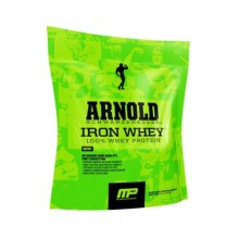 MusclePharm Arnold Iron Whey 227g EXP: