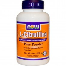 Now Citrulline Powder 4 oz