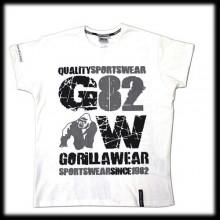 "Футболка Gorilla Wear ""82 Tee"" GW-90501\WH"