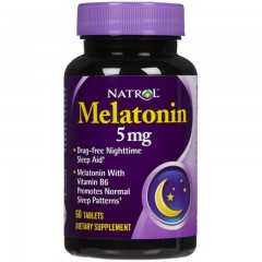 NATROL Melatonin 5mg 60 tabs