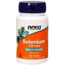NOW Selenium 100 mcg 100tabs