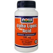 NOW Alpha Lipoic Acid 100 mg 60caps
