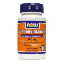 NOW Phenylalanine 500mg 60 caps
