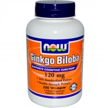 NOW Ginkgo Biloba 120 mg 50caps
