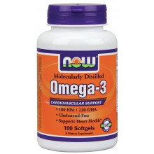 NOW Omega-3 1000 mg 100 softgels