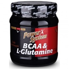 Power System BCAA & L-Glutamine 450g