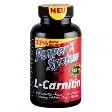 Power System L-Carnitin 333 mg 80 tabs