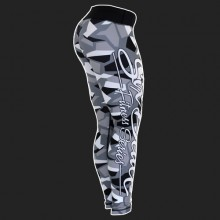 Six Deuce Grey Camo Fitness Leggings