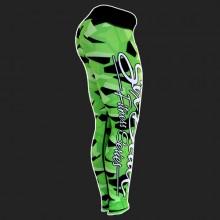 Six Deuce Lime Green Camo Fitness Leggings