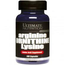 Ultimate Arginine Ornithine Lysine 100 caps