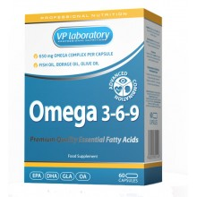 VP Laboratory Omega 3-6-9 60 caps
